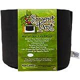 Smart Pots 3-Gallon Smart Pot Soft-Sided Container, Black