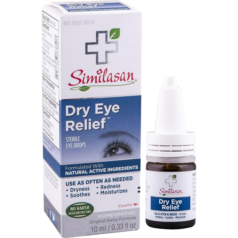 Amazoncom Similasan Dry Eye Relief Eye Drops 033 Ounce Bottle