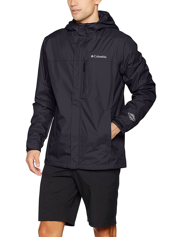 Amazon.com : Columbia Mens Pouring Adventure II Jacket Black ...
