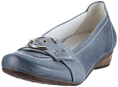 22fdab9ab5854 Remonte Jade Ballet Flats Womens Blue Blau (atlantis 03) Size  6 (39 ...