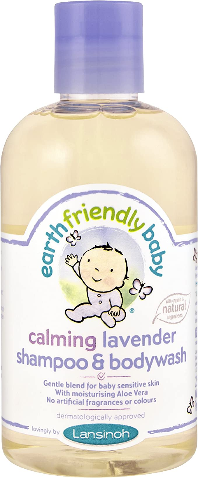 Earth Friendly Baby Calming Lavender Shampoo And Bodywash Amazon Co Uk Health Personal Care