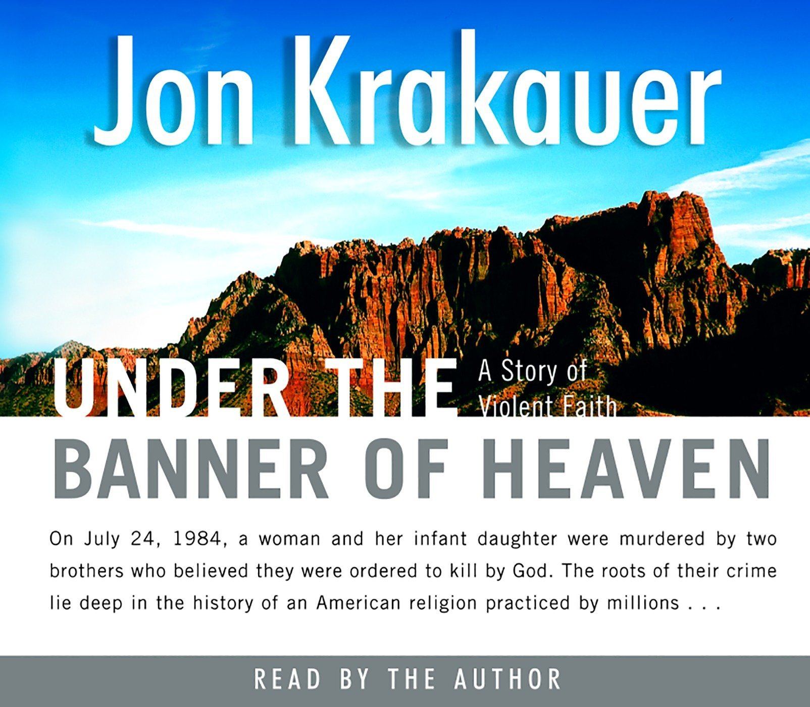 Under the Banner of Heaven: A Story of Violent Faith: Amazon ...
