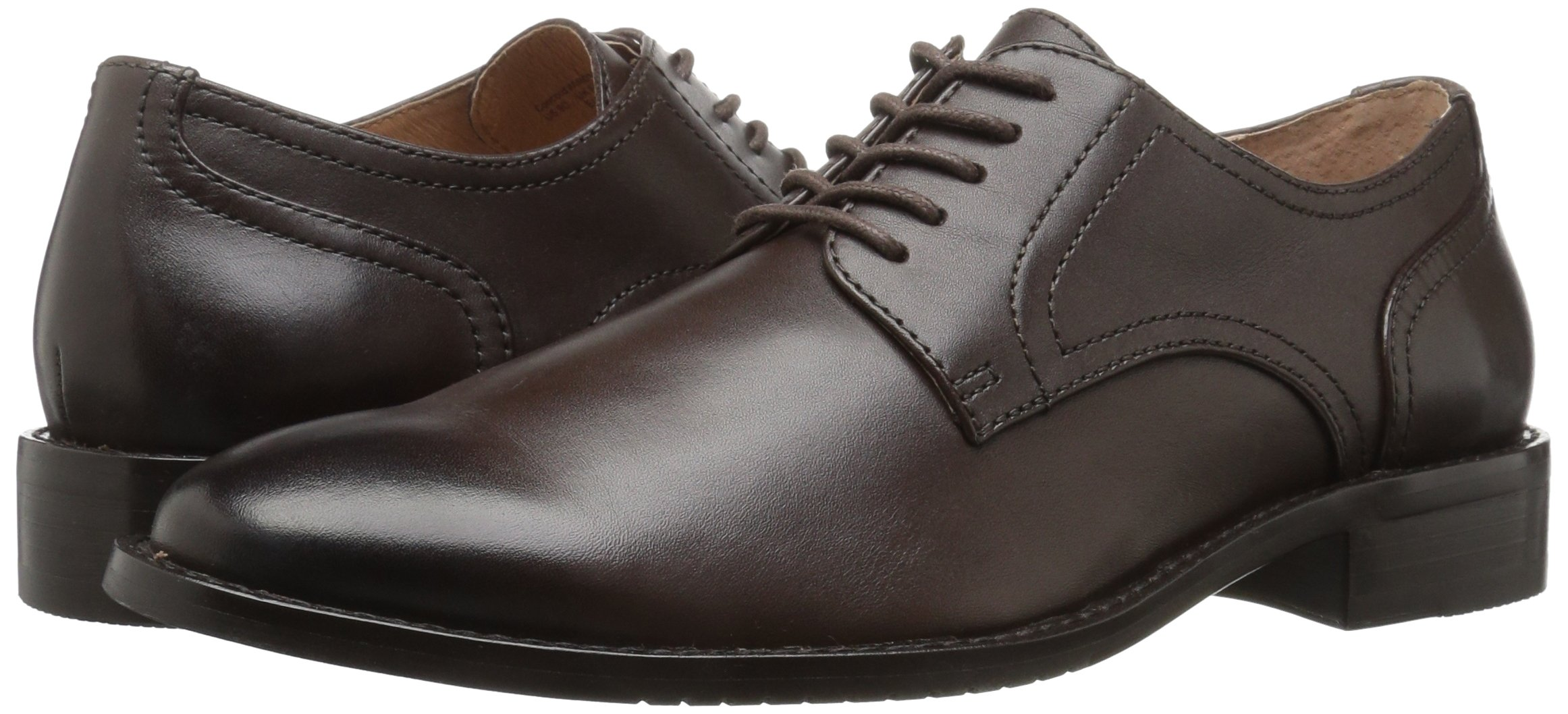 206 Collective Men's Concord Plain-Toe Oxford Shoe, Chocolate Brown, 11 D US by 206 Collective (Image #6)