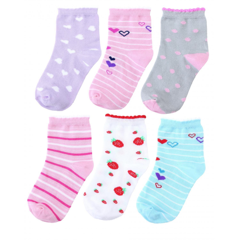 TupTam Baby M/ädchen Kinder Socken Bunt Gemustert 6er Pack