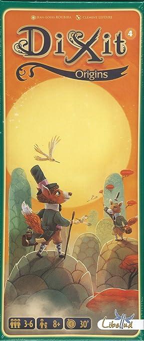 Asmodee - Dixit Origins, Juego de Mesa (Libellud DIX06ML): Amazon.es: Juguetes y juegos