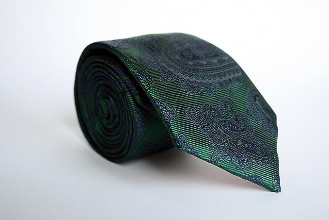 Alvaro Moreno, Corbata Jacquard, color Verde: Amazon.es: Ropa y ...