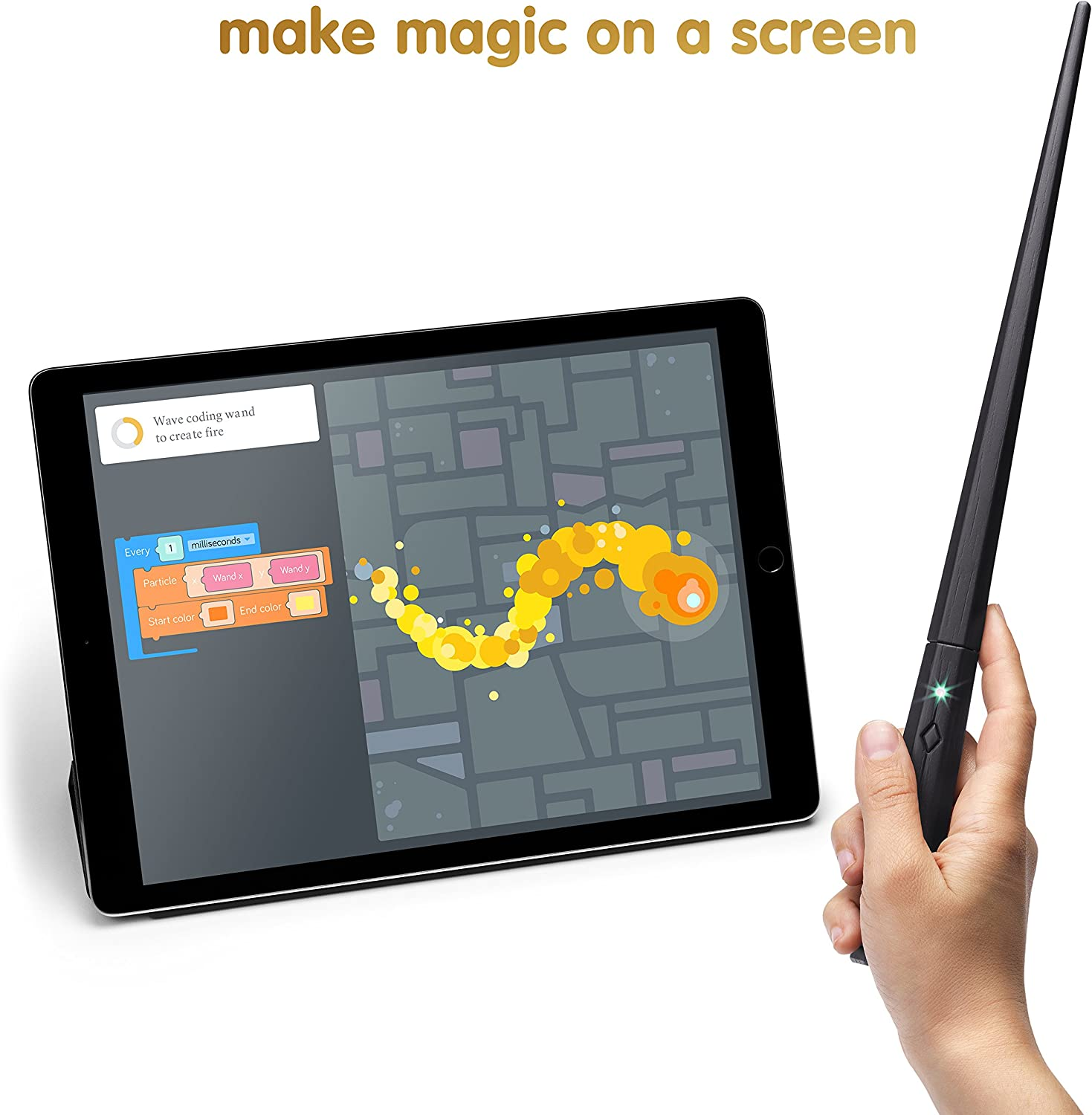 Build a Wand Learn To Code Kano Harry Potter Coding Kit Brand New Sealed