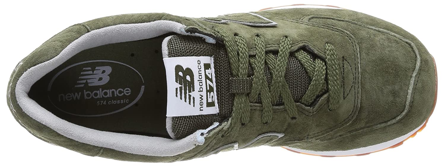 new balance mujer verde militar
