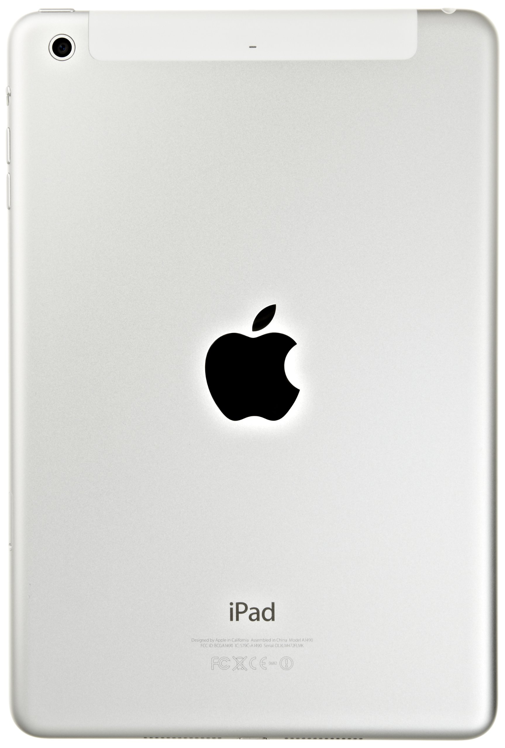 Apple iPad mini 2 with Retina Display MF075LL/A 16GB Memory Wi-Fi  4G LTE Verizon [White With Silver][Old Version] by Apple (Image #5)