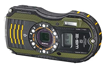 Amazon.com : Pentax Optio WG-3 GPS green 16MP Waterproof Digital ...