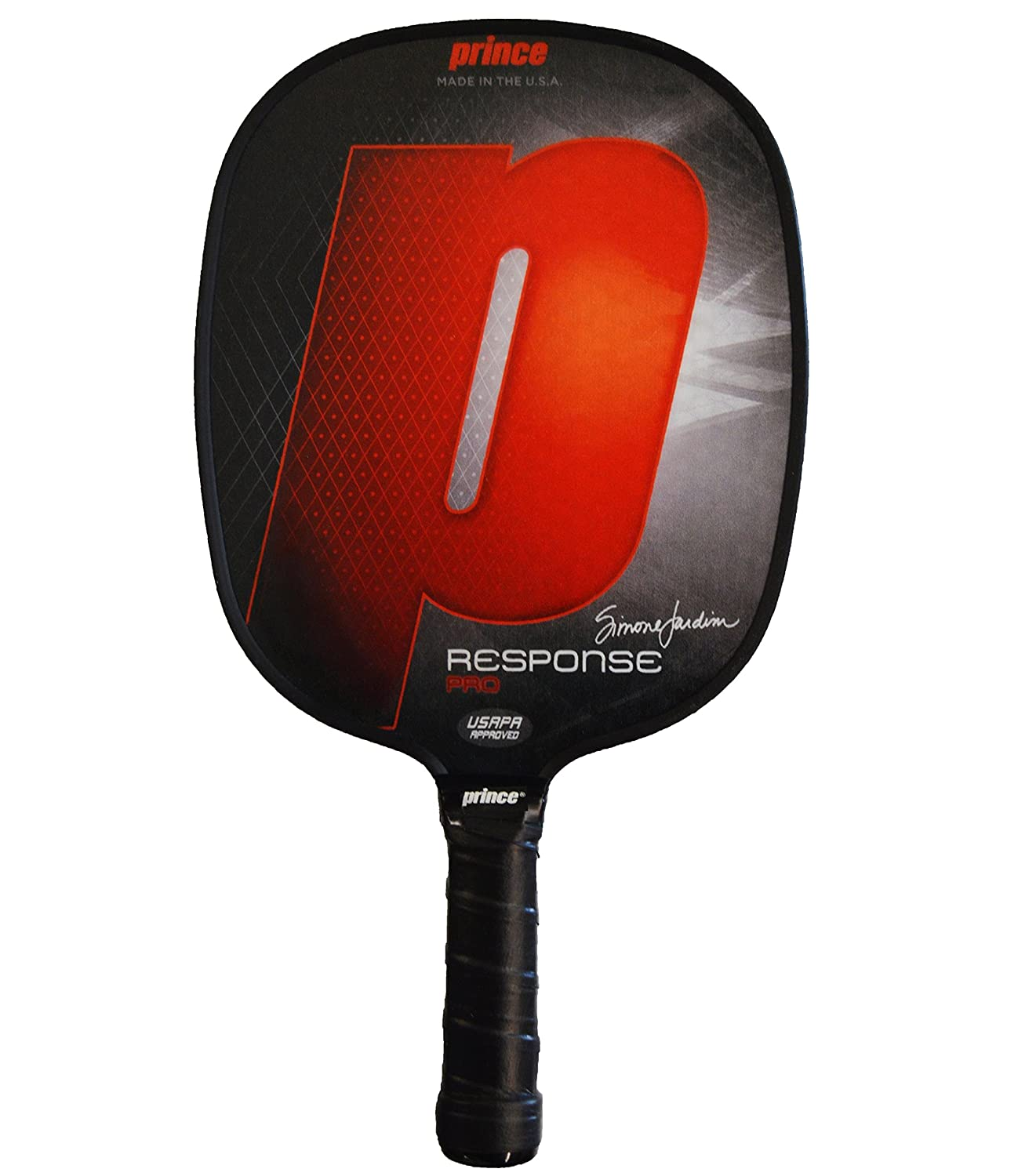 Prince response pro Pickleballパドル | B07D97Z9LR Small Standard Weight Weight|Red | Small Grip Red | Small Grip Standard Weight, ラリーグラス:150a560b --- lembahbougenville.com