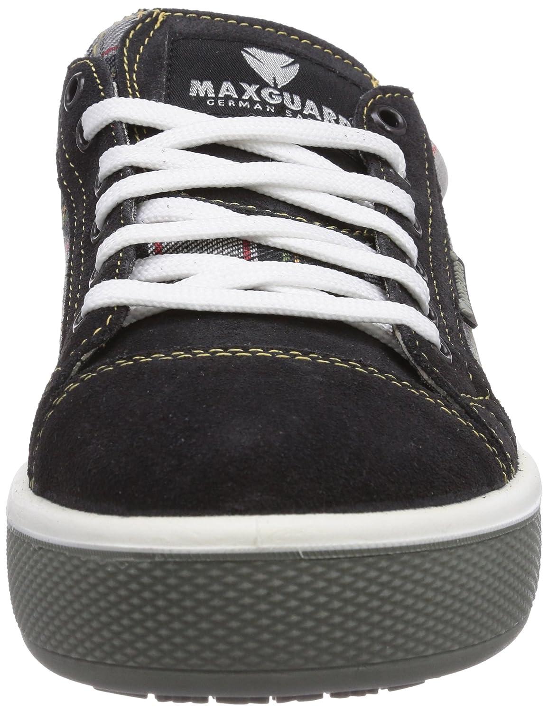 Maxguard S358, Unisex-Erwachsene Sicherheitsschuhe Sicherheitsschuhe Unisex-Erwachsene Mehrfarbig (Kariert) 826137