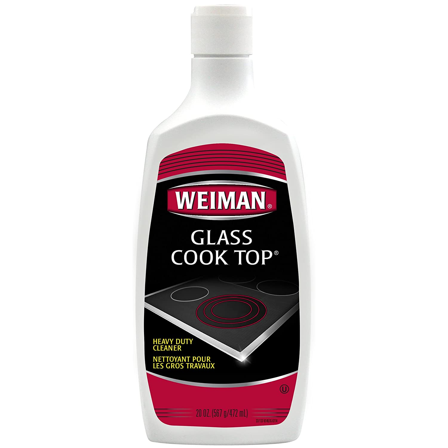 How To Clean A Glass Top Stove Amazoncom Weiman Glass Cook Top Cleaner Polish Heavy Duty