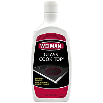 weiman glass cooktop cleaner polish heavy duty no