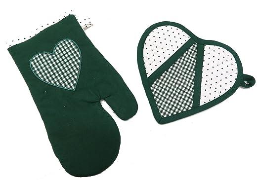 Manopla para horno guante y agarradera de cuadrado con forma de ...