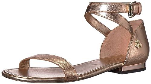 176185fe82f1 Ralph by Ralph Lauren Women s Davison Flat Sandal  Buy Online at Low ...