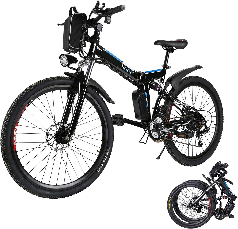 "Aceshin 26"" Folding Electric Mountain Bike"