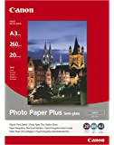 Canon Photo Paper Plus SG-201 - Semi-gloss photo paper - A3 (297 x 420 mm) - 260 g/m2 - 20 sheet(s)