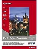 Canon SG-201 fotopapper plus sidennedsmutsning, matt (260 g/kvm), A4, 20 ark