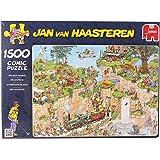 Jumbo 01555 - Jan van Haasteren - Der Golfplatz - 1500 Teile