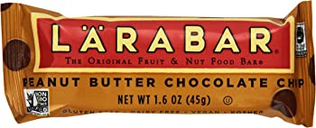 16-Pack Larabar Fruit & Nut Peanut Butter Chocolate Chip Bars
