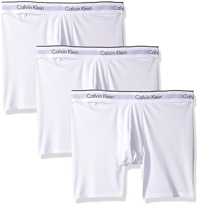 694ee9cf024d Calvin Klein Ropa Interior para Hombre de Microfibra Stretch 3 Pack Boxer  Brief: Amazon.es: Ropa y accesorios