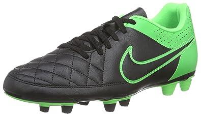 75cd8767233a NIKE Men's Tiempo Rio II FG Football Boots Multicolor Mehrfarbig (Black/ Black/Green
