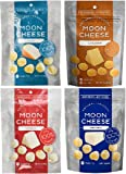 Moon Cheese Assortment, 4 Pack (Cheddar, Gouda, Pepperjack & Mozzarella)