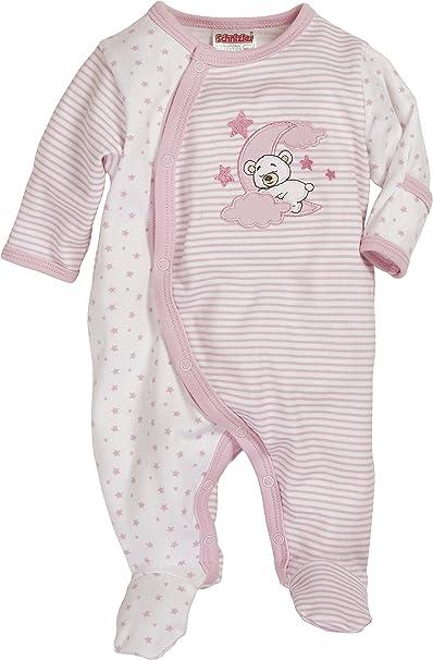 Schnizler Schlafanzug Mond, Frühchen, Oeko-Tex Standard 100 - Pijama Unisex bebé,