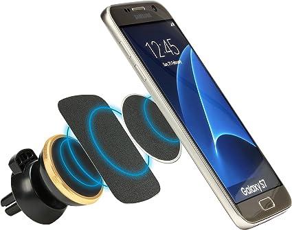 caseday Magneto | universal magnética soporte de coche original caseday coche Accesorios para su Smartphone, Mini Tablet o navegador, lüftungshalterung, máxima estabilidad, magnético: Amazon.es: Electrónica