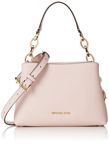 06ef2ce5391703 MICHAEL MICHAEL KORS Portia small saffiano leather shoulder bag Blossom:  Handbags: Amazon.com