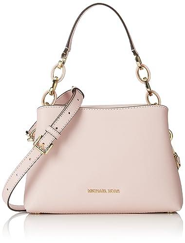 142f4b2d7468 MICHAEL MICHAEL KORS Portia small saffiano leather shoulder bag Blossom