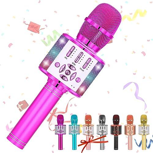 Amazmic Kids Karaoke Machine Microphone Toy