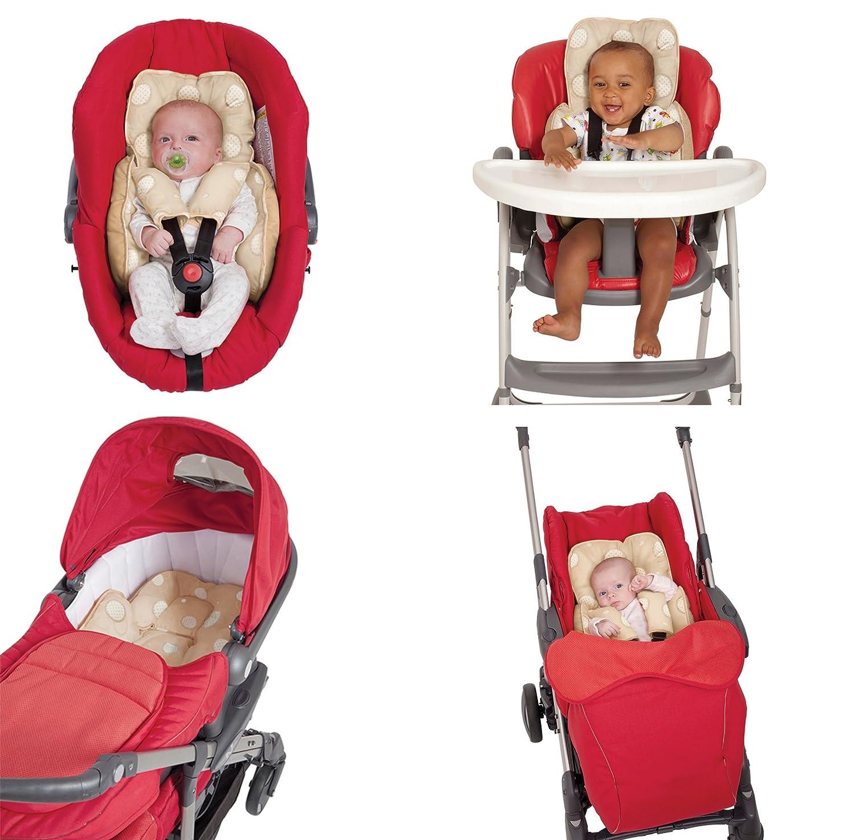 Cuscino allattamento ClevaMama - uso in carrozzine, sdraiette, seggiolini per auto, passeggini