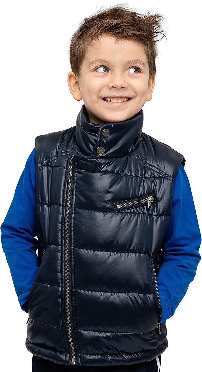 blau STUMMER Kids Boys Jungen Weste