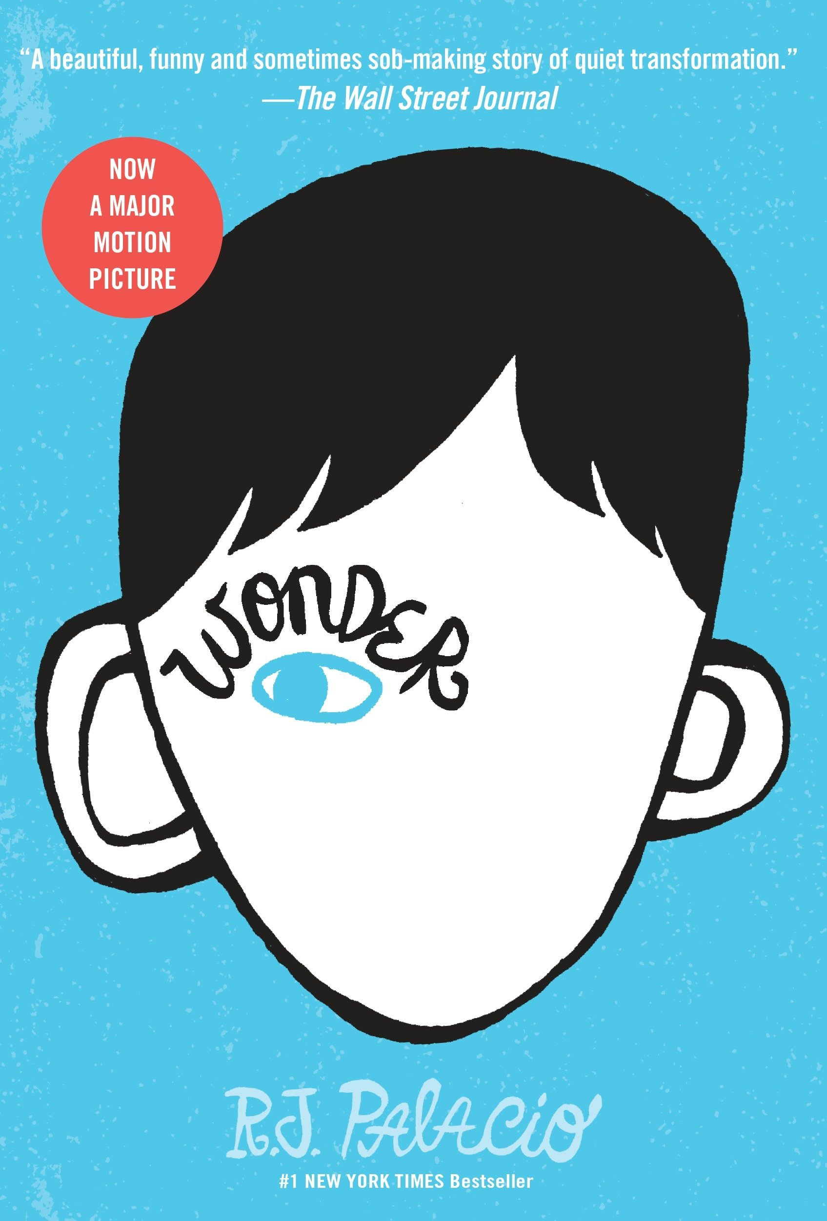 Image result for wonder by rj palacio book