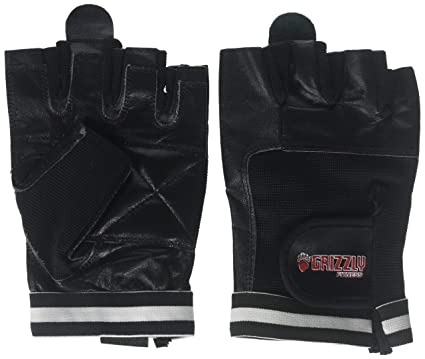 Martial Arts & Combat Sports Grizzly Fitness Black Grizzly Paw Training Gloves