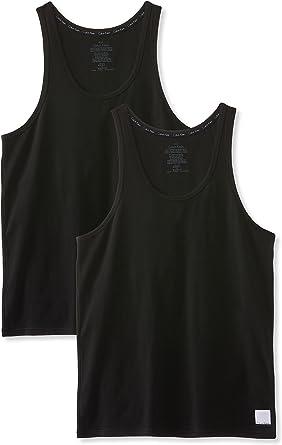 Calvin Klein Camiseta sin Mangas (Pack de 2) para Hombre: Amazon.es: Ropa y accesorios