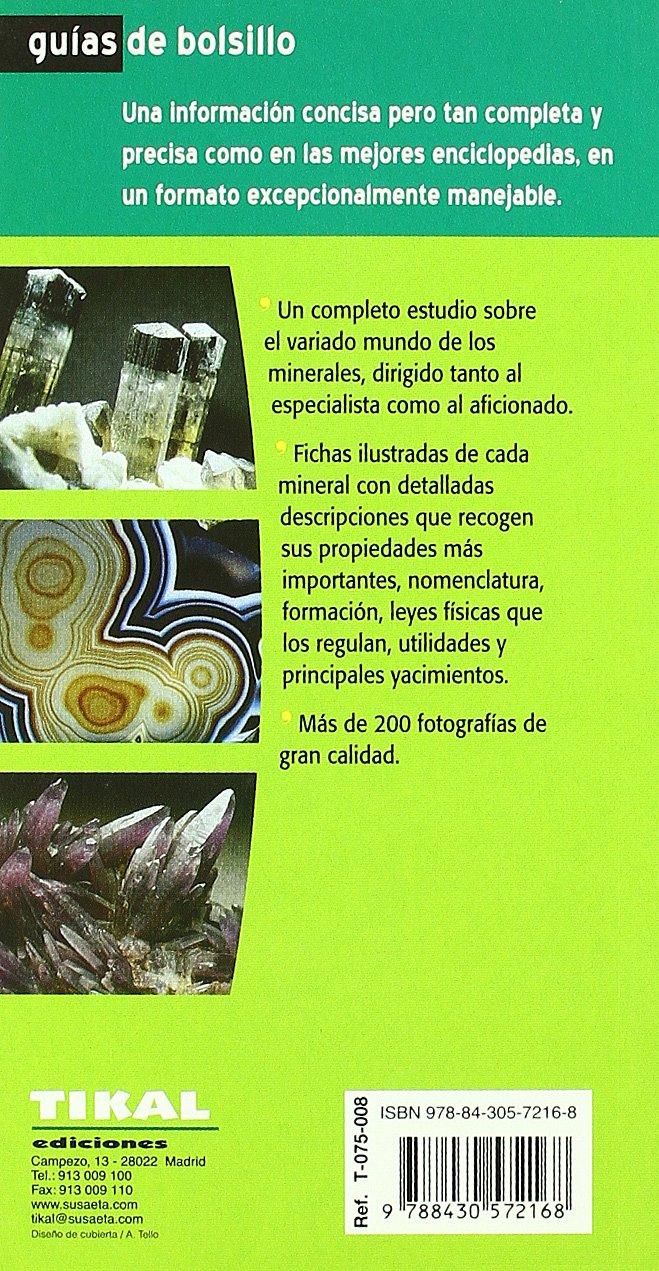 Minerales (Guias De Bolsillo) (Guías De Bolsillo): Amazon.es: Duda, Rudolf, Rejl, Lubos: Libros