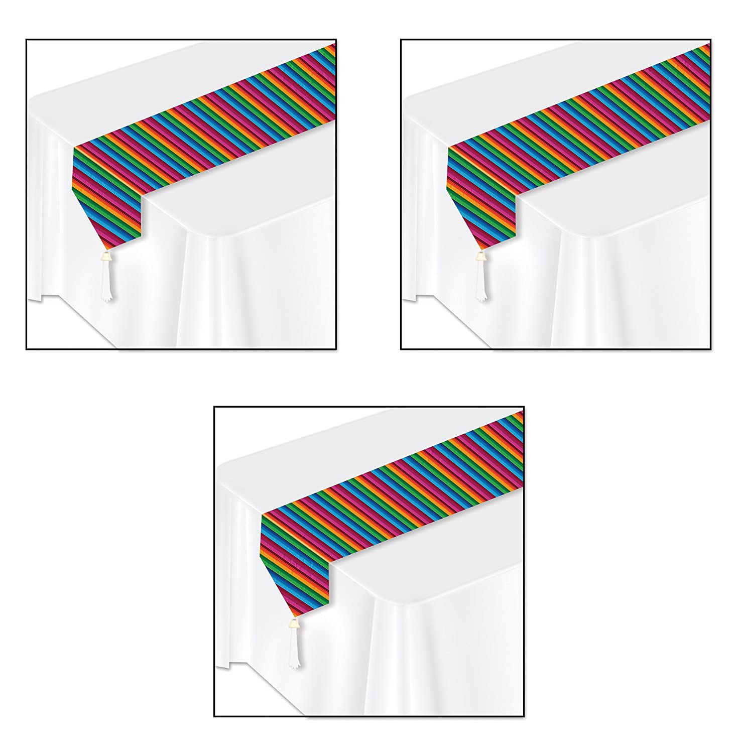 Beistle Printed Fiesta Table Runner The Beistle Company 50921