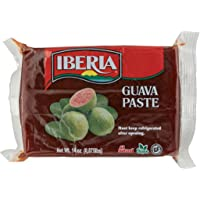 Iberia Guava Paste, 14 oz, All Natural, Vegan, Gluten Free, Halal, Kosher Guava Paste for Snacks, Cooking, Baking