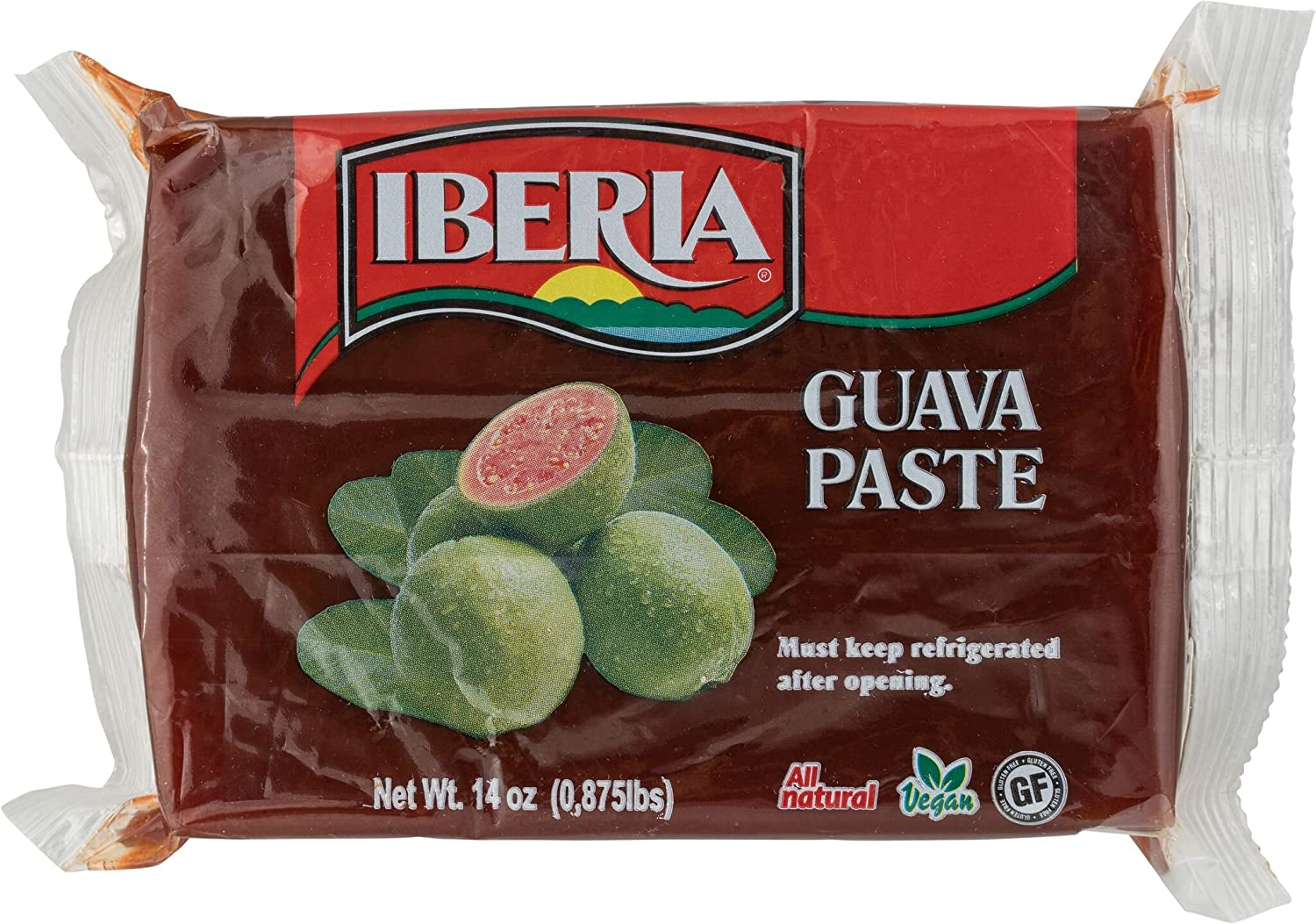 IBERIA All Natural Guava Paste - Pasta de guayaba 14 Oz