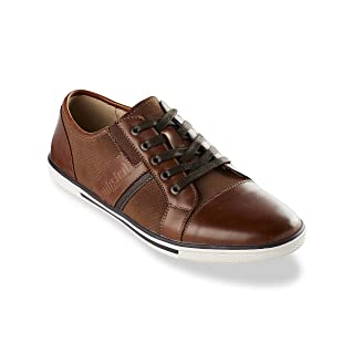 Kenneth Cole Unlisted Crown Low Oxfords Cognac