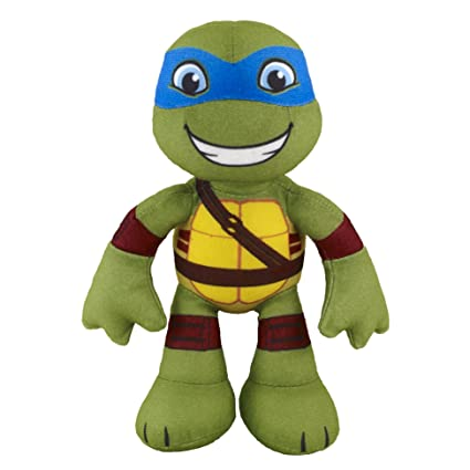 Nickelodeon Teenage Mutant Ninja Turtles, Pre-Cool, Half Shell Heroes, Leonardo Plush, 8 Inches
