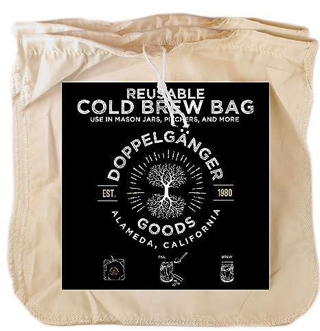 Amazon.com: Bolsa de café de algodón orgánico para cerveza ...