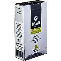 Cápsulas de Café Orgânico Bravo Café, Compatível com Nespresso, Contém 10 Unidades