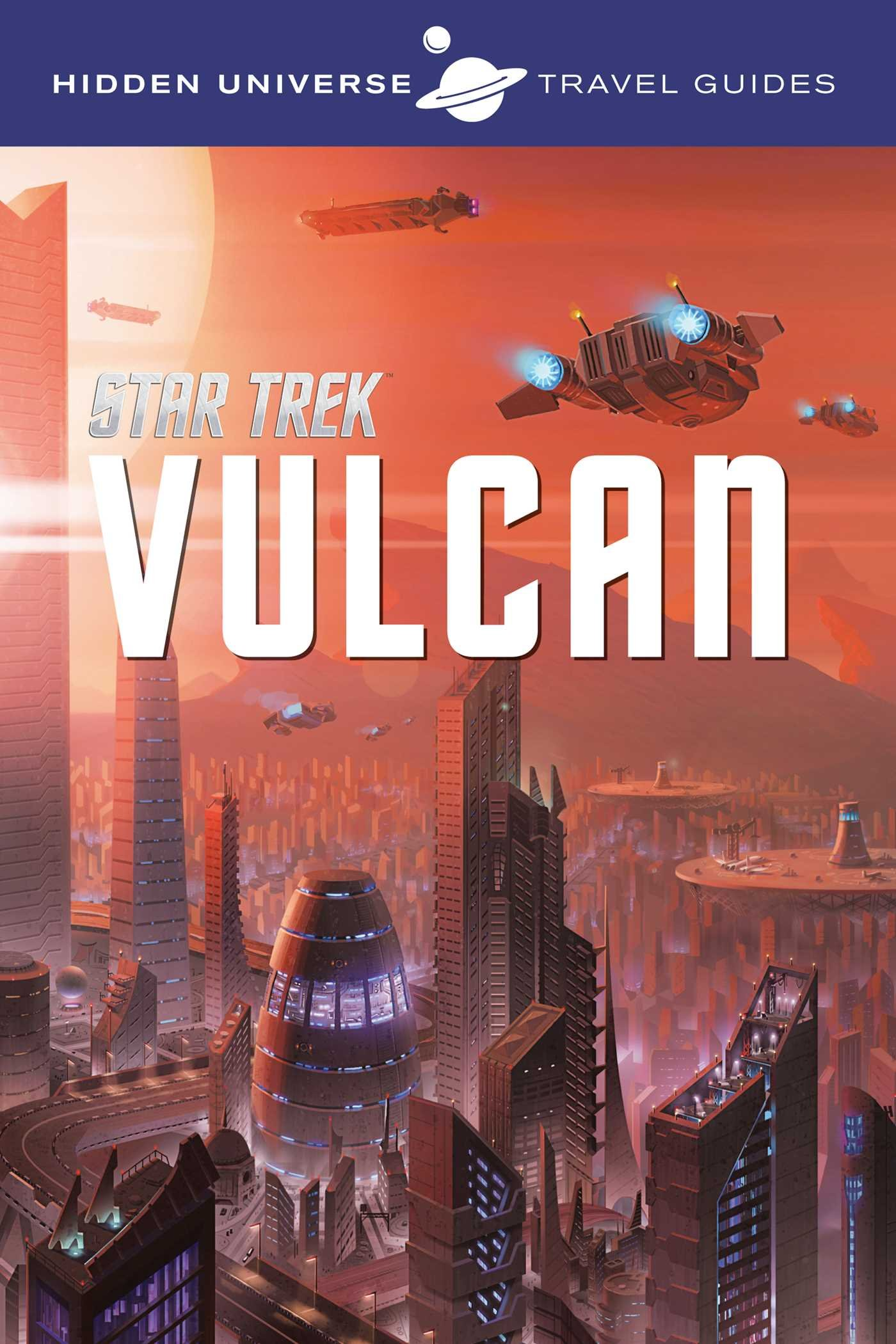 Hidden Universe Travel Guides Vulcan product image
