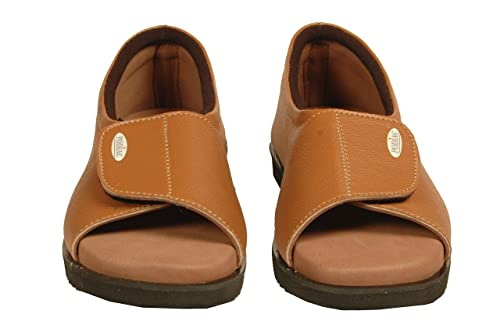428ca4cd59a PODIAC Cool Brown Rubber Casual Half Shoe Female  Buy Online at Low Prices  in India - Amazon.in