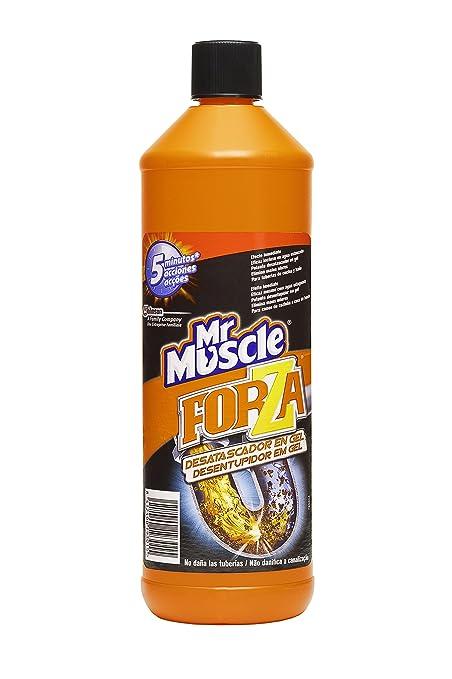 Mr Muscle Forza - Desatascador en gel de efecto inmediato , elimina malos olores y no