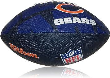 Wilson Football NFL Junior Chicago Bears Logo - Balón de fútbol ...